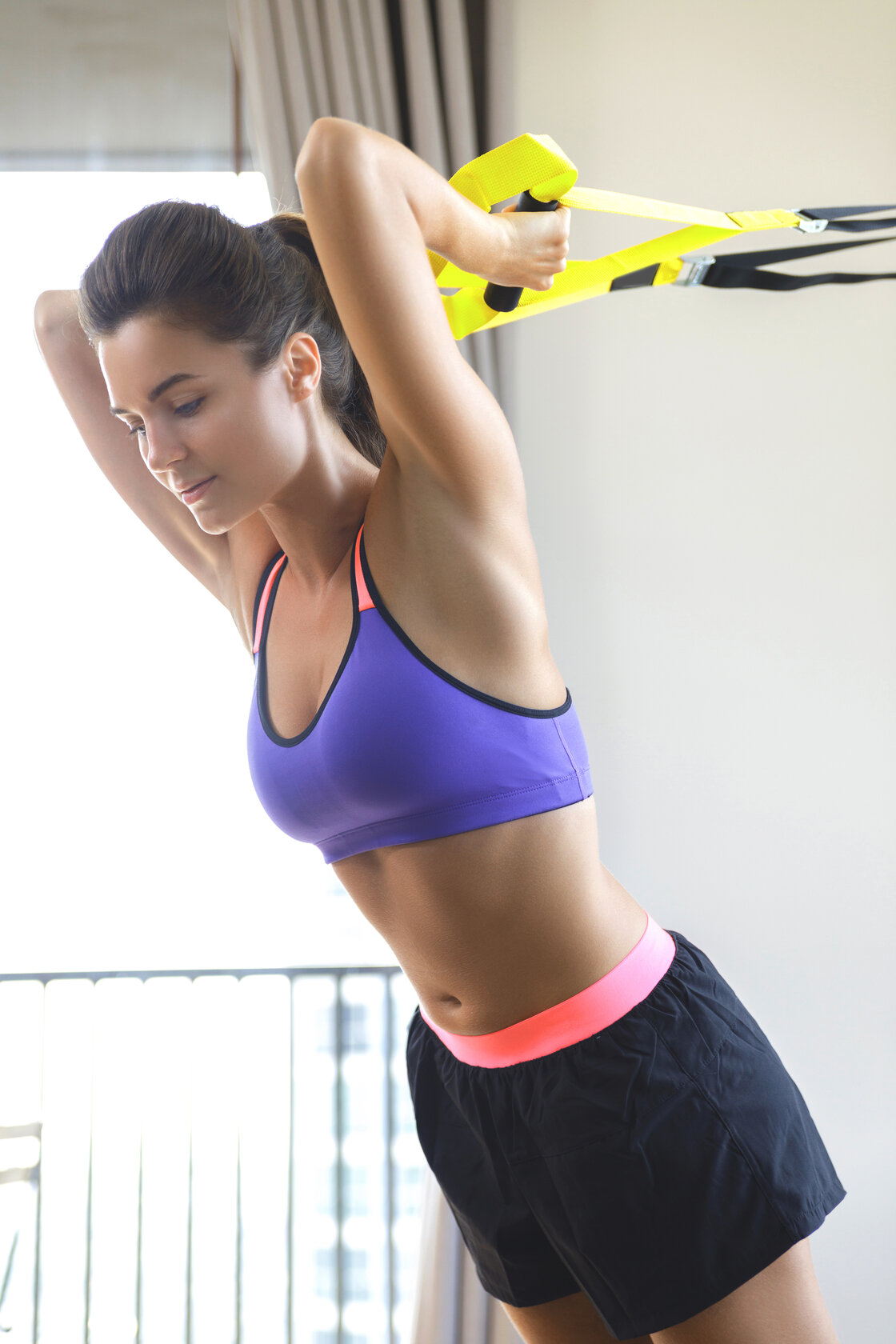 TRX triceps exercise, TRX oefeningen, TRX triceps